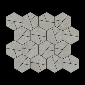 Décor Craft Ashen Decorative Terrazzo Collection Porcelain Tile Matt 30 x 30cm, 10mm thickness