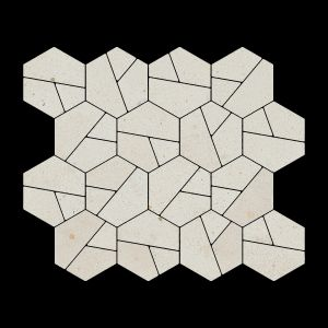 Décor Craft Limo Decorative Terrazzo Collection Porcelain Tile Matt 30 x 30cm, 10mm thickness