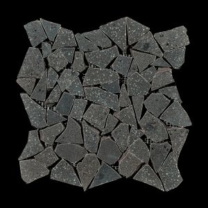 Décor Gemstone Graphite Decorative Terrazzo Collection Porcelain Tile Matt 30 x 30cm, 10mm thickness