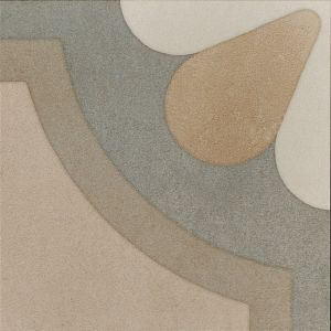 Encaustic 2 Decorative Cement Collection Porcelain Tile Matt 20 x 20cm, 10mm thickness
