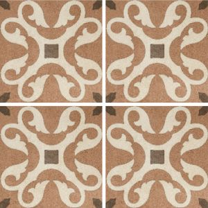 Encaustic Nostalgia 3 Decorative Cement Collection Porcelain Tile Matt 20 x 20cm, 10mm thickness
