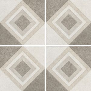 Encaustic Nostalgia 4 Decorative Cement Collection Porcelain Tile Matt 20 x 20cm, 10mm thickness